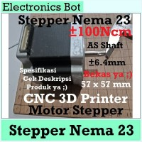 [EBS] Nema 23 57 Mikro Stepper Motor 57 mm 54 mm CNC 3D Printer 100Ncm
