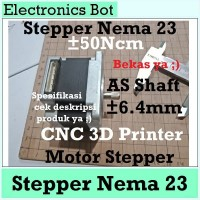 [EBS] Nema 23 57 Mikro Stepper Motor 57 mm 42 mm CNC 3D Printer 50Ncm