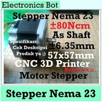[EBS] Nema 23 57 Mikro Stepper Motor 57 mm 48 mm CNC 3D Printer 80 Ncm