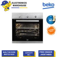Beko Built IN Oven Gas Tanam 66 Liter BIGT22102X