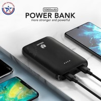 Mini Portable Power Bank 5000mAh 2A Quick Charge Pesawat EVO P3 - Putih