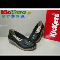 Sepatu Kickers Wanita J37~Hitam Size 36