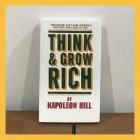 Buku Import Think and Grow Rich by Napoleon Hill (Original Paperback)