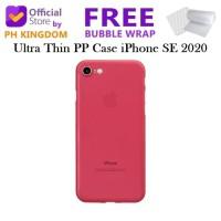 XvL iPhone SE 2020 - Ultra Thin 0.4mm PP Case - Hitam