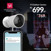 Xiaomi Yi Xiao Yi Outdoor CCTV IP Camera 1080P International Version