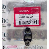 Klem Bracket Holder Master Cylinder Hitam 45517-166-006 Ori Honda