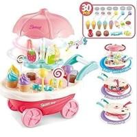 Mainan Anak Gerobak Permen dan Es Krim - Mainan Gerobak Mini Sweet Ice