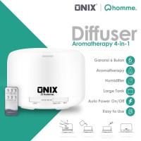 Onix 4 in 1 Aroma Diffuser Humidifier Elektrik + 7 LED - 500ML