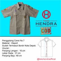 Baju Pramuka Penggalang Cowo Pendek - 7