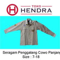 Baju Pramuka Penggalang Panjang Cowo - 7