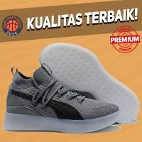 Sepatu Basket Sneakers Puma Clyde Court Disrupt Cool Grey Pria Wanita