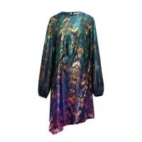 Sophistix Avalon Dress in Blue Green Print