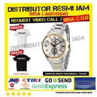 seiko ssa306j1 ssa306 new jam tangan pria garansi resmi komplit box