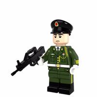 Lego Minifigure Army Honor Guard Angkatan Darat