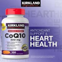 Kirkland Signature CoQ10 300 mg., 100 Softgels.