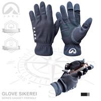 Gloves XABA Sikerei - sarung tangan gunung - biru - black - red