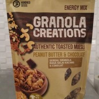 GRANOLA CREATIONS PEANUT BUTTER AND CHCOCOLATE 400gr