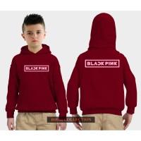 hoodie sweater anak black pink jaket anak 05
