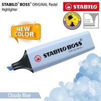 STABILO BOSS PASTEL Cloudy Blue / Highlighter Warna Biru Langit