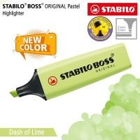 STABILO BOSS PASTEL Dash of Lime / Highlighter Warna Kuning Lemon