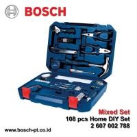 Alat Pertukangan Komplit Bosch 108 pcs Home DIY Set