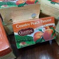 Celestial Seasonings Country Peach Passion Herbal Tea - Bungkus Mulus