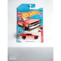 Hot Wheels Nissan Skyline 2000 GTR police red white