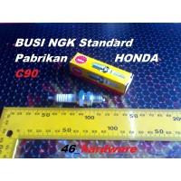 BUSI NGK D6HS standard pabrikan HONDA C 90 76 - 79 12 x 12.7 mm hex 18