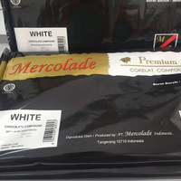 Mercolade Premium Dark Coklat Compound / dcc cooking chocolate coklat