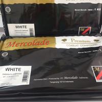 Mercolade Premium Dark Coklat Compound / dcc cooking chocolate 1 KG