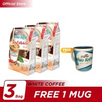 Kopi Luwak White Koffie Tarik Malaka Bag 6x30gr [3] - Free 1 Mug