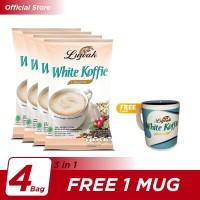 Kopi Luwak White Koffie Original Bag 10x20gr [4] - Free 1 Mug