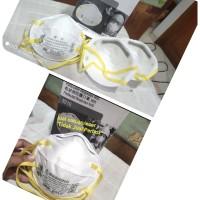 Masker 3M 8210 n95 anti virus bakteri asap