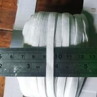tali karet elastis gepeng 5mm untuk masker 20 meter
