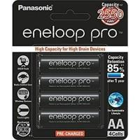 Rechargeable Battery Panasonic Eneloop Pro 2550mAh Size AA A2 - 4 pcs