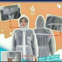 jas hujan - Putih