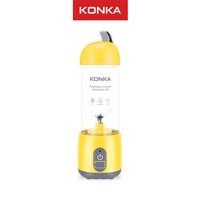 Juicer Portabel KONKA-Blender Mini-Pengisian Daya USB-Gelas 420ML - Kuning
