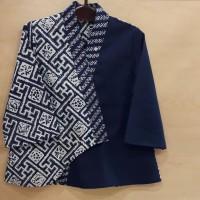 Blus batik kimono