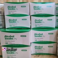 Alkohol Swab Onemed/ Alkohol Swap Onemed/ Tisu Alkohol Onemed isi 100