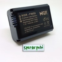 Baterai SONY A6500 A6300 A6000 A5100 A5000 A3000 Alpha NEX NP-FW50