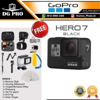 GOPRO HERO 7 BLACK EDITION BONUS WATERPROOF - GO PRO HERO7 4K & WIFI
