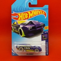 SUPER READY !!! Hot Wheels TH REG HOLLOWBACK Ungu - L2018