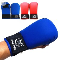 Boxing Gloves Wansda Sports Men Supplies Kids Karate Half Finger PU