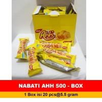 Snack NABATI AHH kemasan 1 Box 20Pcs @5.5gr NABATI AHH 500 BOX