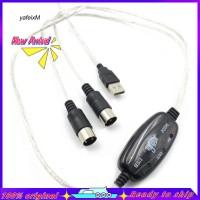 Ya _ 2M Kabel Adapter USB MIDI untuk Keyboard