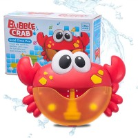 Bubble Crabs Music Baby Bath Toys Kids Pool Swimming Soap Machine