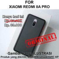 Frosted case Xiaomi Redmi 8A Pro hardcase casing hp cover fuze matte