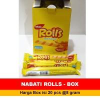 Snack NABATI ROLLS kemasan 1Box 20Pcs @4gr NABATI ROLLS BOX