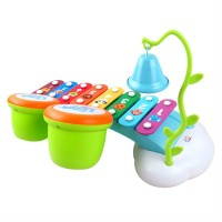 Mainan Music Player Warna-Warni Pelangi untuk Bayi