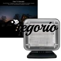 Lampu TV Simulator Anti Maling Hemat Energi Portabel